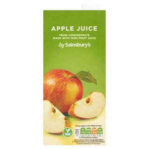 Sainsbury's Pure Apple Juice 1L
