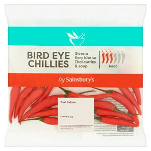 Sainsbury's Bird Eye Chillies (Red or Green) 20g