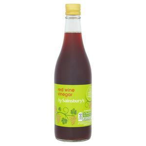 Sainsbury's Wine Vinegar, Red Wine 500ml