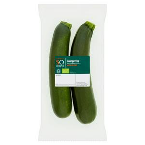 Sainsbury's Courgettes, SO Organic 300g