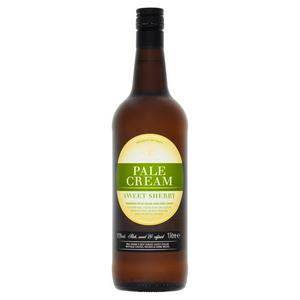 Sainsbury's Sweet Pale Cream Sherry 1L