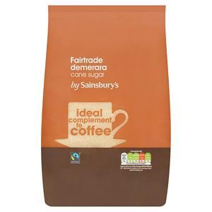 Sainsbury's Fairtrade Demerara Cane Sugar 2kg