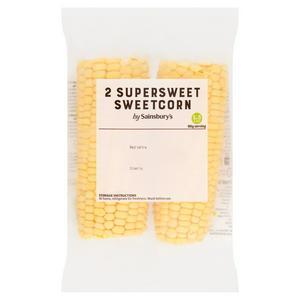 Sainsbury's Sweetcorn x2