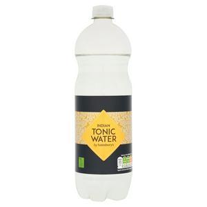 Sainsbury's Indian Tonic Water 1L