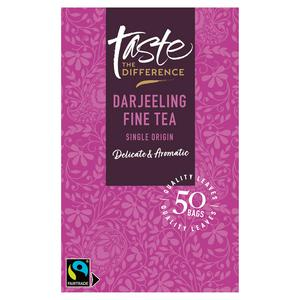 Sainsbury's Darjeeling Tea Bags, Taste the Difference x50