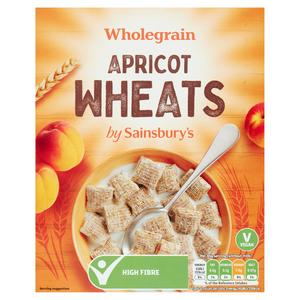 Sainsbury's Wholegrain Apricot Wheats Cereal 500g