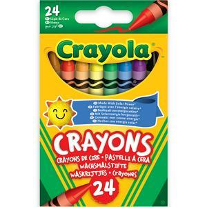 Crayola Assorted Wax Crayons 24Pk