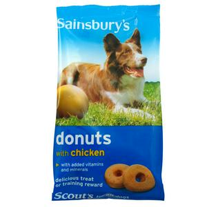 Sainsbury's Doggy Donuts, With Chicken 200g