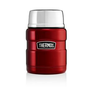 Thermos King Food Flask Red 470ml
