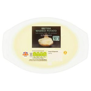 Sainsbury's Mashed Potato 400g
