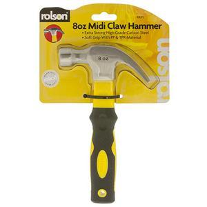 Rolson Midi Claw Hammer 8oz