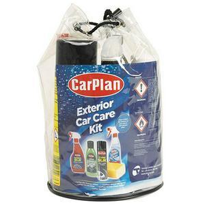 CarPlan exterior car care kit