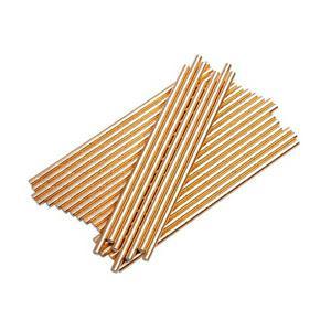 Sainsbury's Home Palm Rose Gold Paper Straws 25Pk