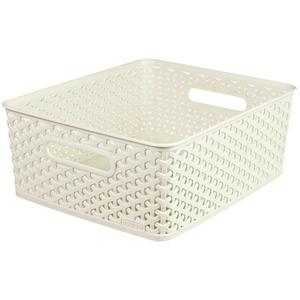 Curver My Style Basket Vintage White Small