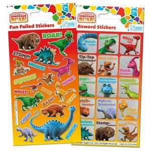 Dinosaur Roar Stickers