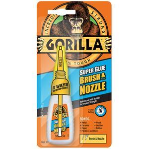 Gorilla Superglue Brush & Nozzle 12gm