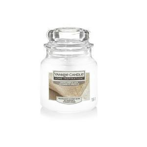 Yankee Small Jar White Linen & Lace