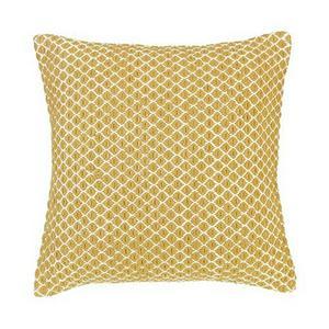 Sainsbury's Home Mustard Woven Cushion