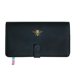 Black Bee Travel Wallet