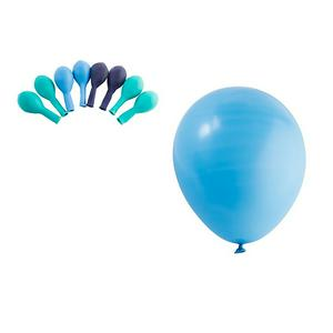 Sainsbury's Home 10pk Mixed Blue Balloons