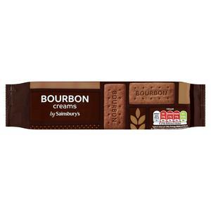 Sainsbury's Bourbon Cream Biscuits 200g