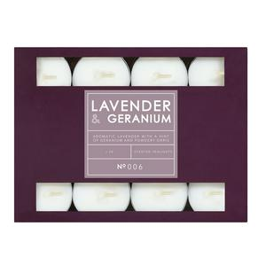 Sainsbury's Home Tealights Lavender & Geranium 24Pk