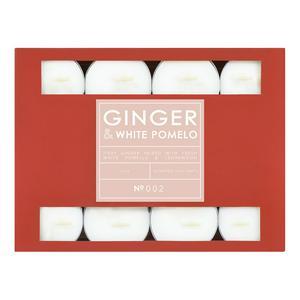 Sainsbury's Home Tealights Ginger & White Pomelo 24Pk