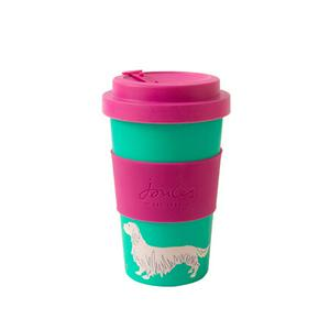 Joules Brights eco bamboo 400ml travel cup