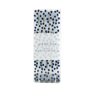 Sainsbury's Home Floral Hideaway Fine Liner Pen Set