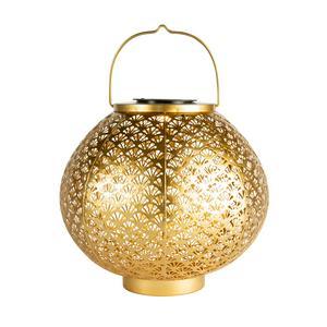 Oceana Solar Gold Lantern
