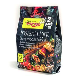 Sku Bar-be-quick Instant Lighting Charcoal 2 x Inner Bags