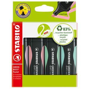 Stabilo Green Boss Pastel Wallet 4