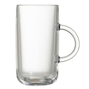 Habitat Glass Latte Mug