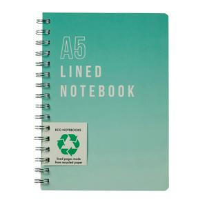 Sainsbury's Home Teal A5 Lined Notebook