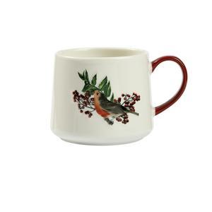 Sainsbury's Home Robin Embossed Mug