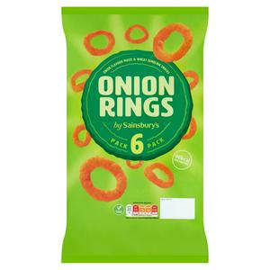 Sainsbury's Onion Rings 6x19g