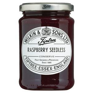 Tiptree Raspberry Jam, Seedless - Extra Fruit 340g