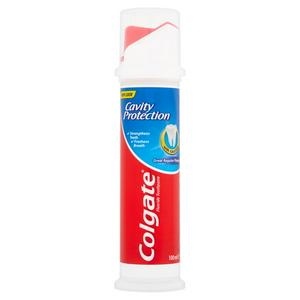 Colgate Cavity Protection Toothpaste, Pump 100ml
