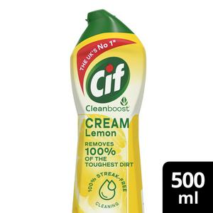 SAINSBURYS > Household > Cif Cream, Lemon 500ml