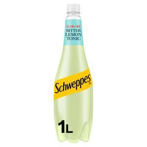 Schweppes Bitter Lemon Slimline 1L