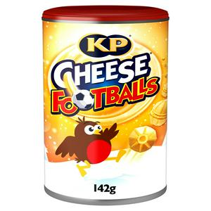 KP Cheese Footballs Tin 142g