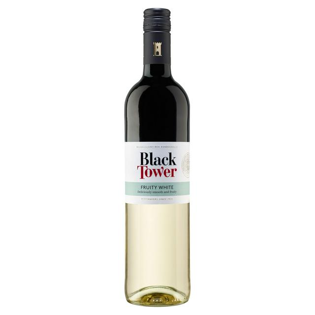 Black Tower White 75cl Sainsbury S