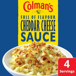 Colman's Sauce Mix Cheddar Cheese Sauce 40g