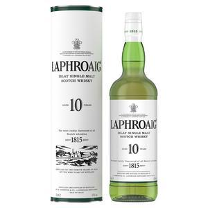 Laphroaig Islay Single Malt Scotch Whisky 10 Year Old 70cl