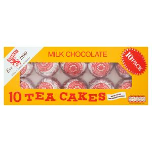 Tunnock's Milk Chocolate Teacakes Biscuits x10