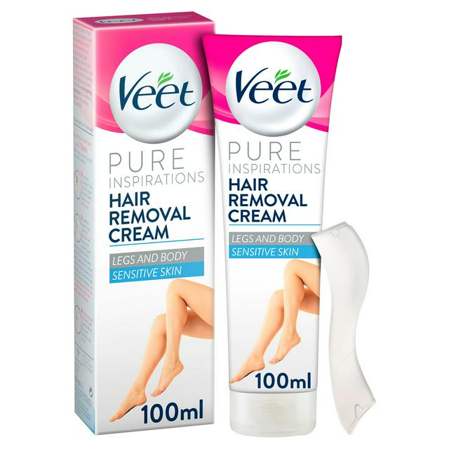 Veet Hair Removal Cream Sensitive 100ml Sainsbury S