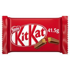 KitKat 4 Finger Milk Chocolate Bar 41.5g