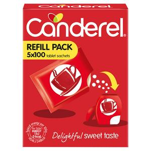 Canderel Low Calorie Sweetener Tablets Refill 100x5