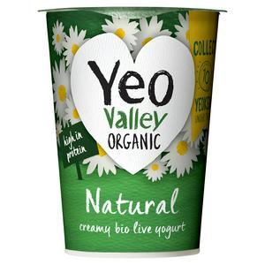 Yeo Valley Organic Natural Yogurt 500g