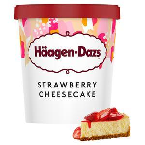 H�agen-Dazs Ice Cream Strawberry Cheesecake 460ml